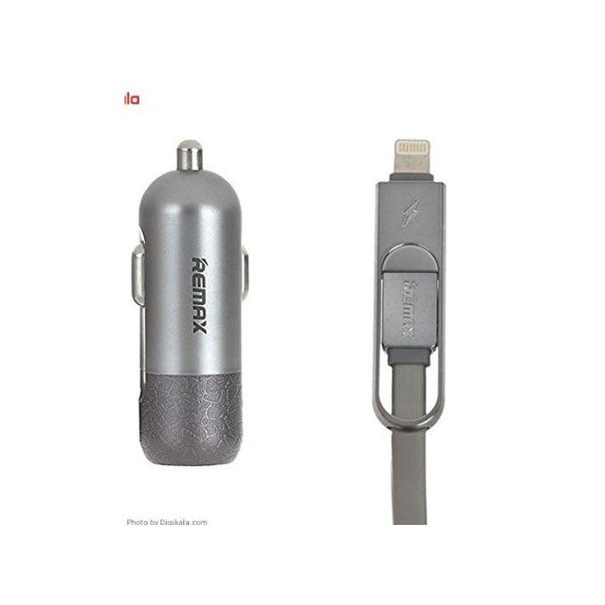 Remax Rcc103 34 2 En 1 Câble Usb De Chargement Et De Données De Voiture Pour Android Apple