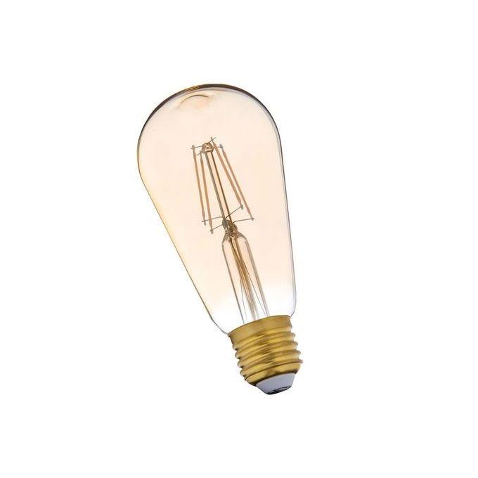 Ampoule Décorative Filament Edison E27 Diam 64mm Led à Ballast Intégré 35w 30w 300lm Led économie Dénergie