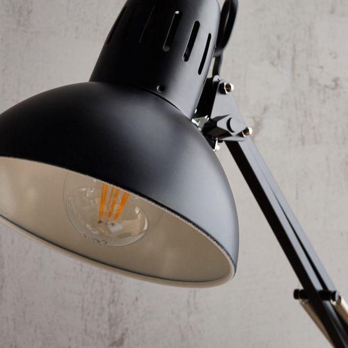Lampe De Bureau à Pince Noire Articulée Arquitecto Haut 60cm Garantie 2 Ans