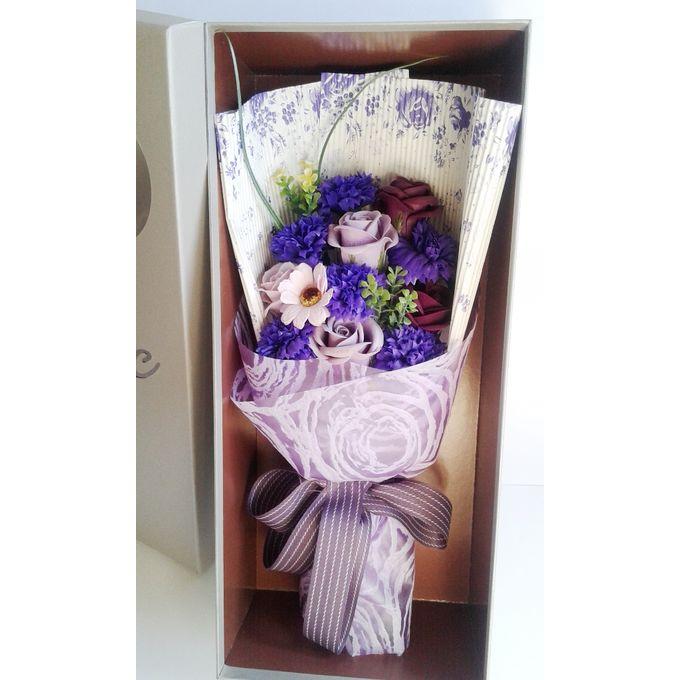 هدية الزهور محاكاة الزهور المعطرة ـ زهور اصطناعية