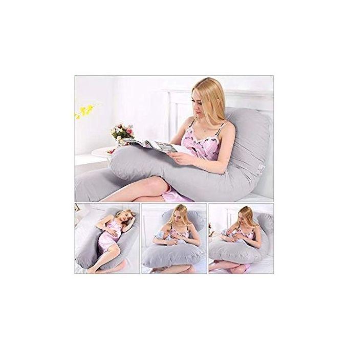 وسادة طبية مريحة للنساء الحوامل رمادي