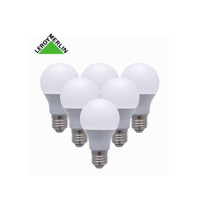6 Ampoules Led Culot E27 à Vis 97w équiv 60w 2700k Led économie Dénergie
