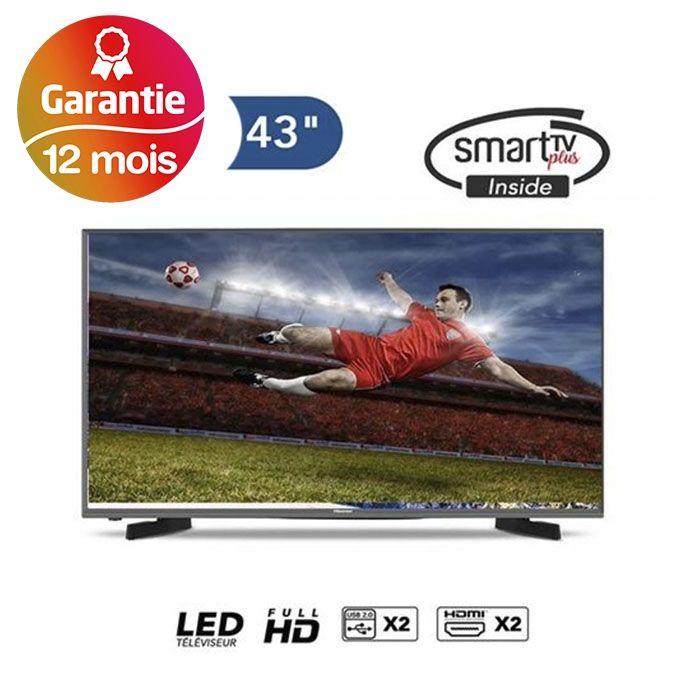 43 Smart Full Hd Tv 43n2170pw Noir 1 An Abonnement Iptv Gratuit