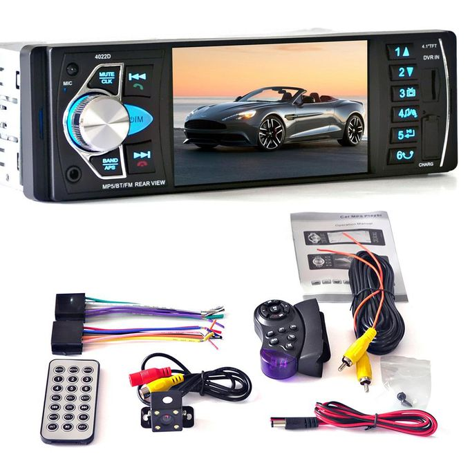 Car Mp5 Player Bluetooth Touch Screen Radio Hdrear Camera