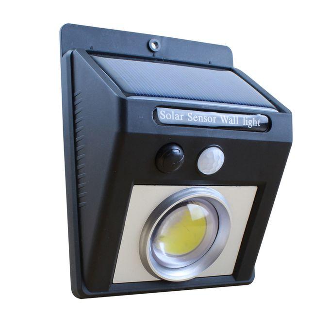 Mini Projecteur Energie Solaire Rechargeable Detecteur De Mouvement Waterproof Ip65