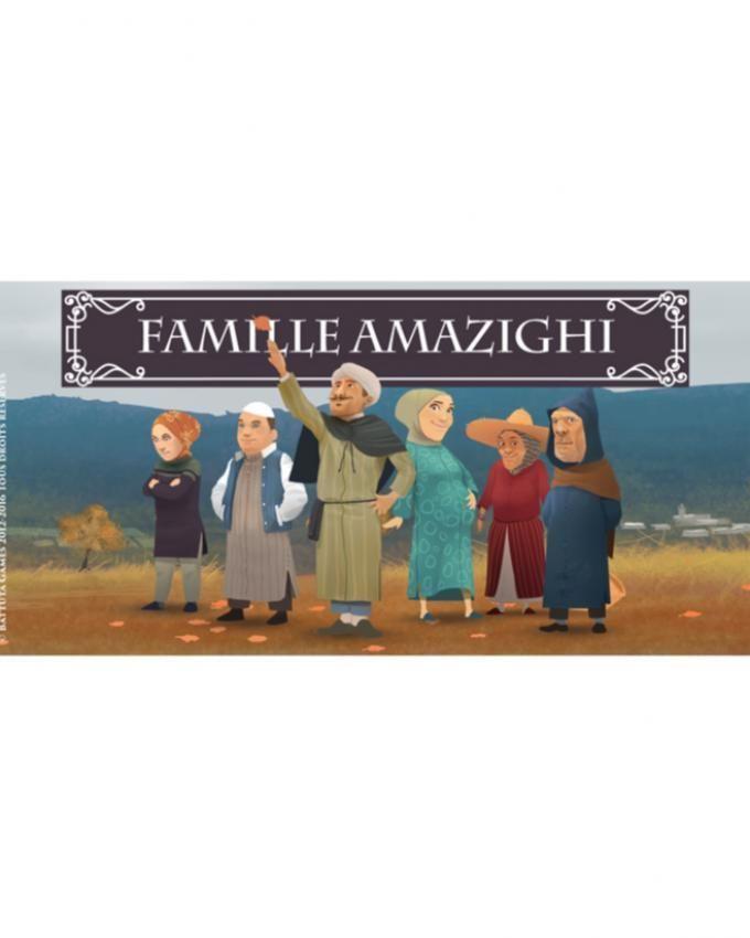 Jeu des 7 familles marocaines