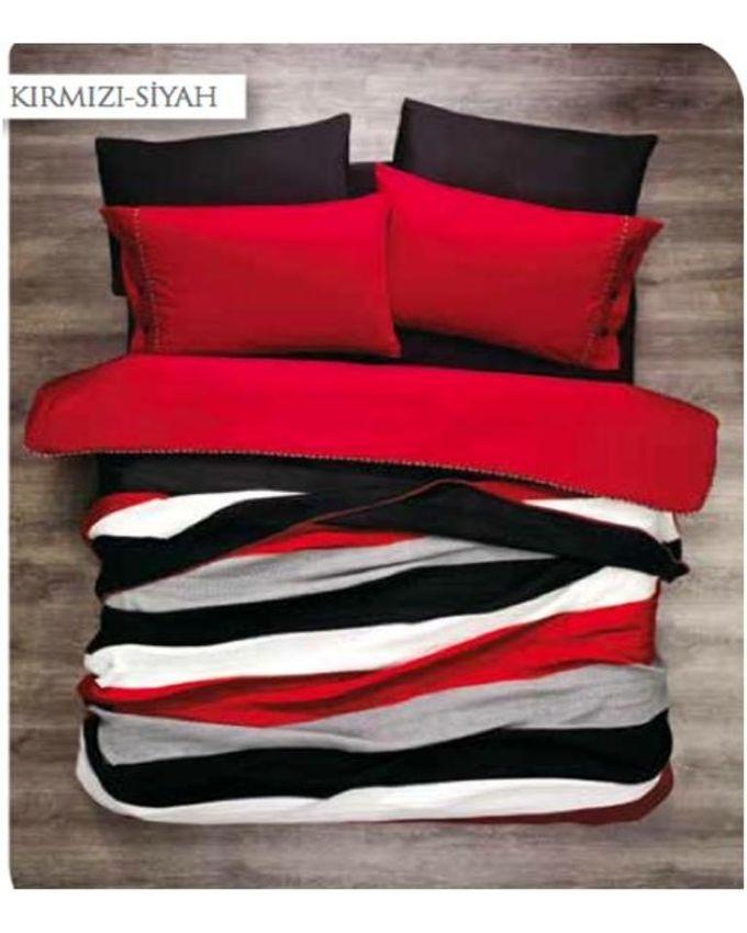 autre parure de lit 7pi ces zebre rouge acheter en ligne jumia maroc. Black Bedroom Furniture Sets. Home Design Ideas