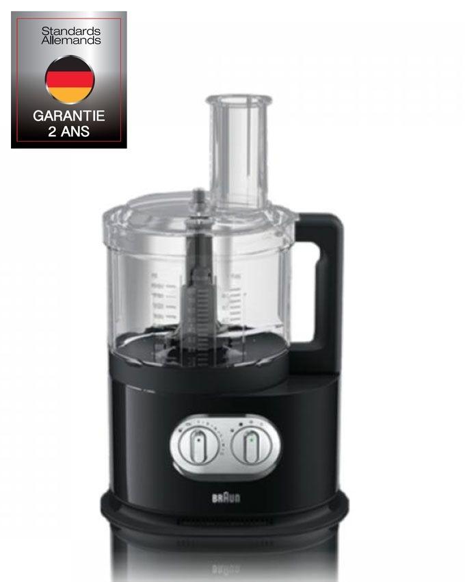Braun robot multifonction fp5160 bk noir acheter en for Robot cuisine braun