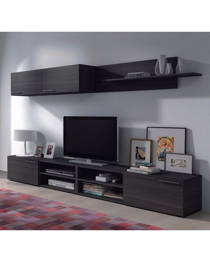 fores meuble tv kikua 260 cm gris acheter en ligne jumia maroc. Black Bedroom Furniture Sets. Home Design Ideas