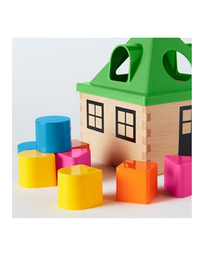 Boîte à formes, multicolore