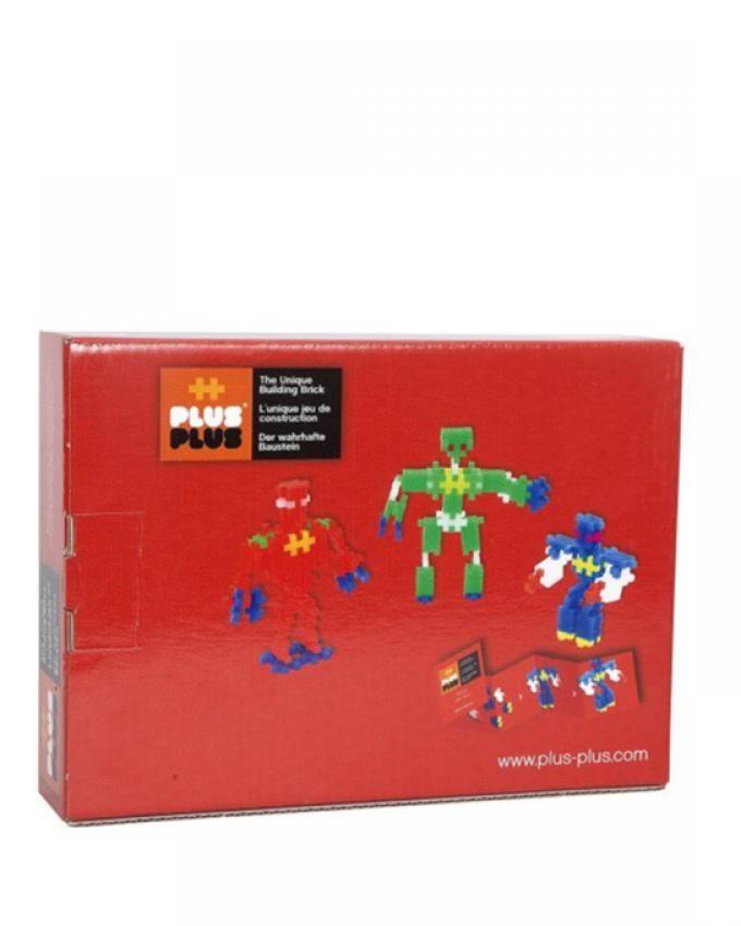 Plus-Plus - 52148 - Jeu éducatif de construction - Mini Neon - Robots - 170 Pièces