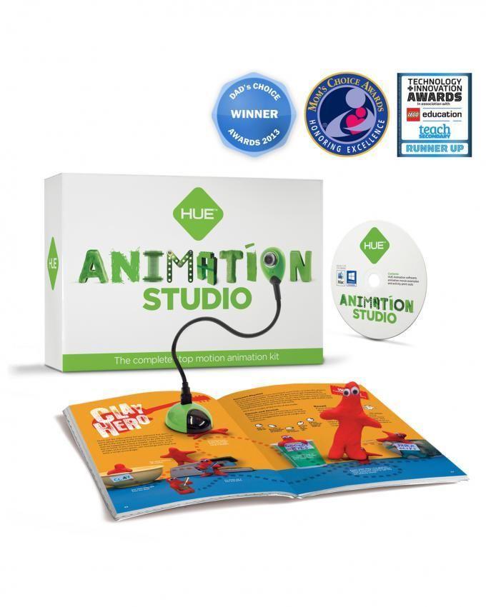 Kit danimation Stop Motion complet - caméra incluse - fonctionne sous Windows et Mac OS X