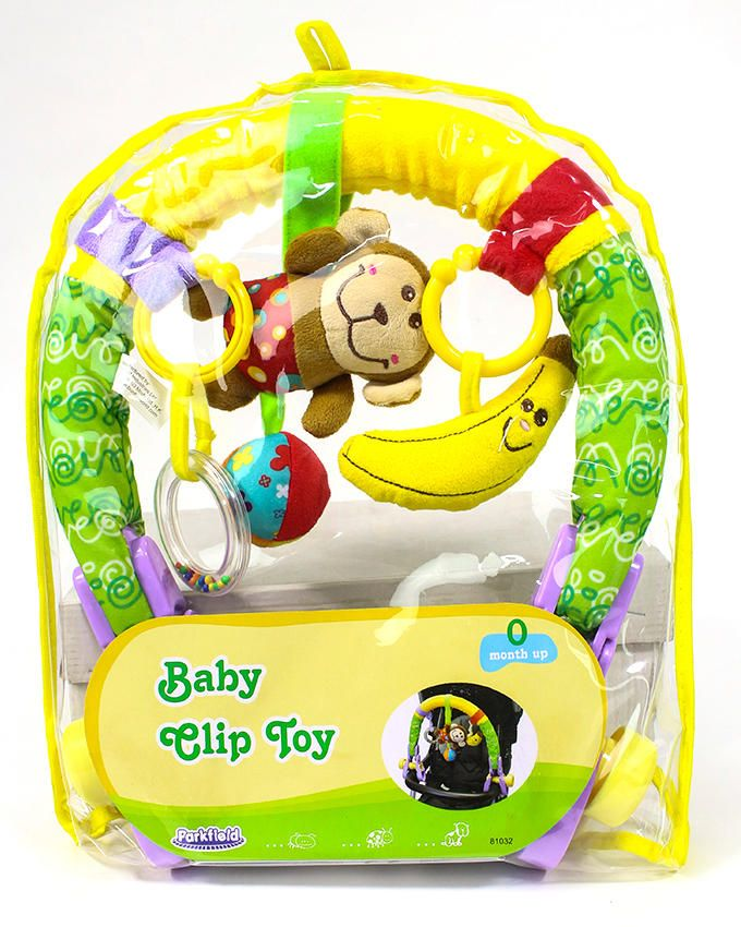 Manège pousette Baby clip toy