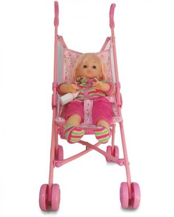 Poussette avec poupée