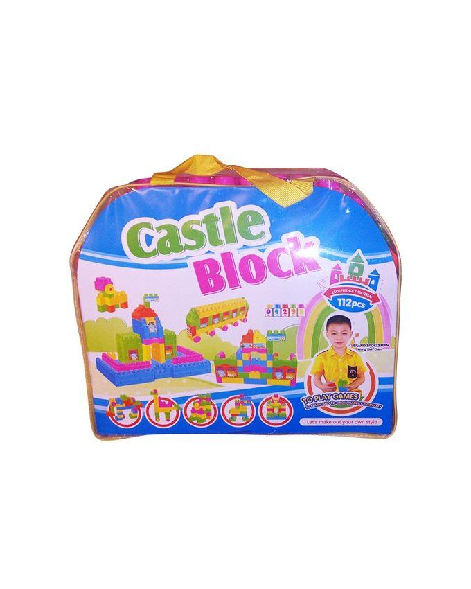 Castle Blocks jouets pour enfants - 112 Pièces