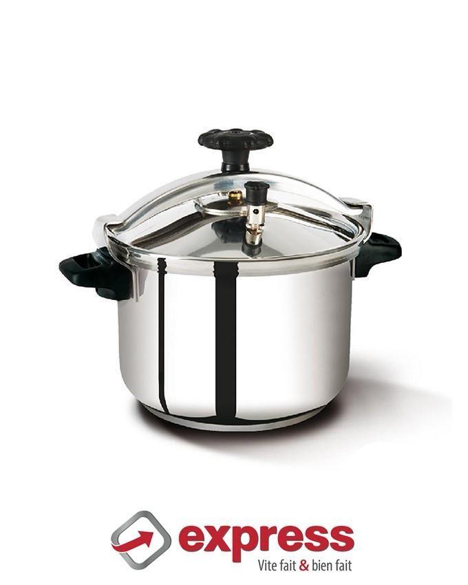 Express cocotte en inox 10 litres acheter en ligne for Art and cuisine cocotte