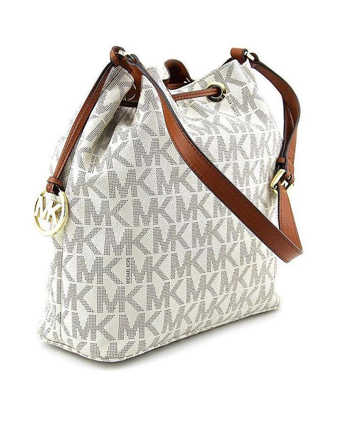 Michael kors sac porte epaule convertible blanc - Sac blanc michael kors ...