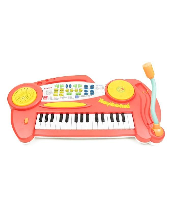 Piano Sonore Keyboard-Rouge