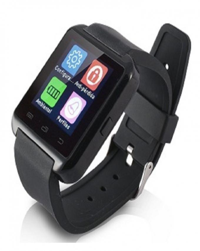 ksix montre connect e smartwatch bluetooth noir. Black Bedroom Furniture Sets. Home Design Ideas