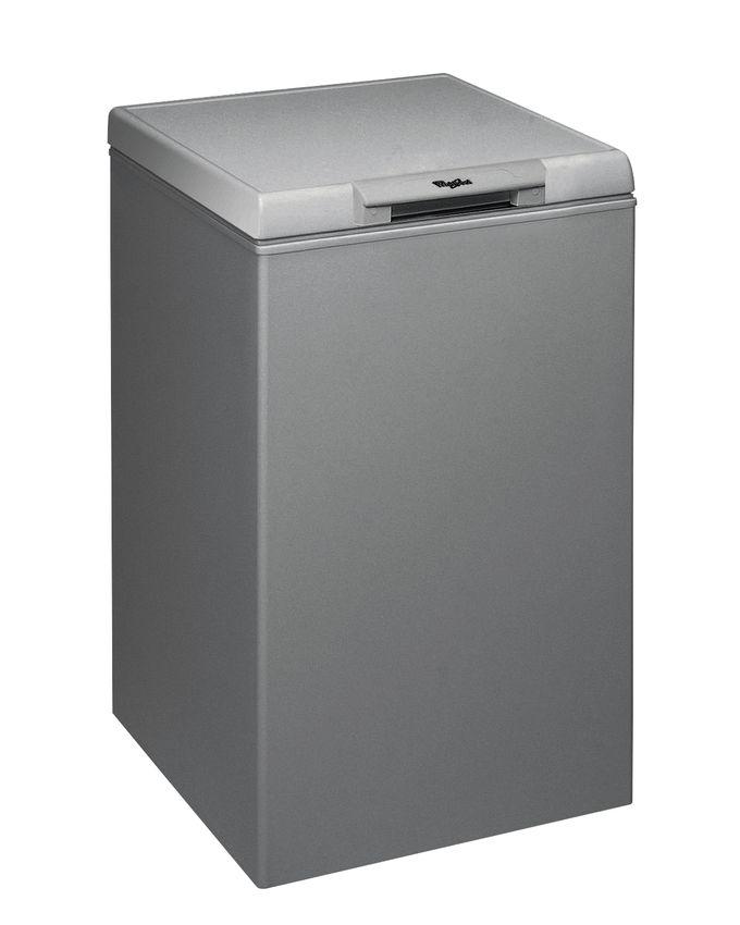 whirlpool cong lateur horizontal 128 l 53x58 cf16s silver classe c acheter en ligne. Black Bedroom Furniture Sets. Home Design Ideas
