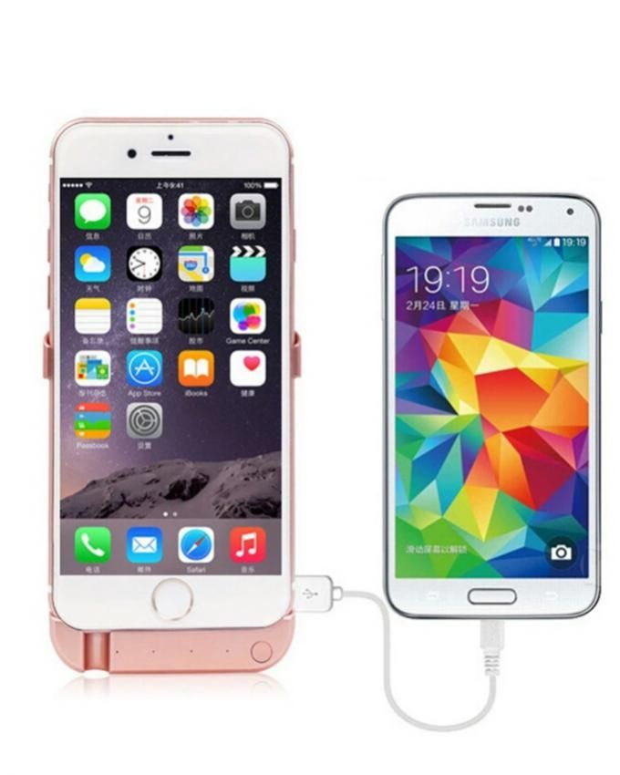 newdery powerbank coque batterie pour iphone 6 6s. Black Bedroom Furniture Sets. Home Design Ideas