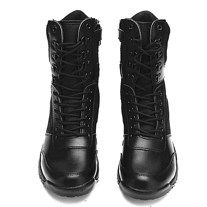 Fashion Fashion  's Outdoor Military Boots Ankle Boots Military High Top Leather  Combat Non-slip Work Shoes-EU à prix pas cher  | Jumia Maroc d37d93