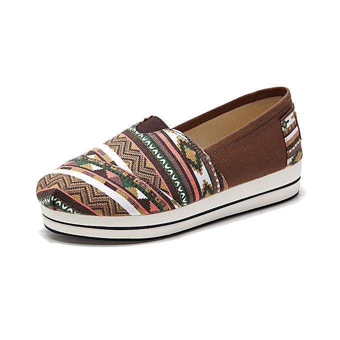 Fashion femmes Casual Outdoor Canvas Flat chaussures à prix pas cher    Jumia Maroc