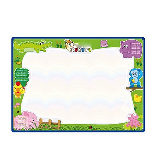 Generic Water Drawing Painting Writing Mat Board Magic Pen Doodle Gift 50cmX70cm à prix pas cher
