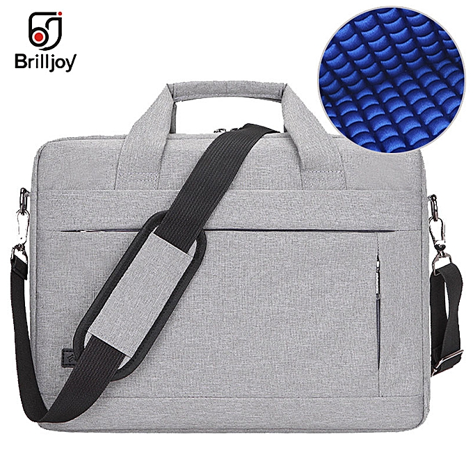 Other Brilljoy Men femmes Travel Briefcase Bussiness Notebook Bag for Large Capacity Laptop Handbag for 14 15 Inch Macbook Pro Dell PC(light gris 14 Inch) à prix pas cher