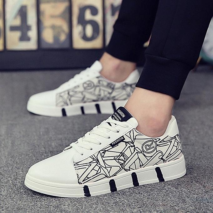 Autre Fashion Graffiti Graffiti Fashion Leisure Students Canvas Shoes à prix pas cher  | Jumia Maroc 816984