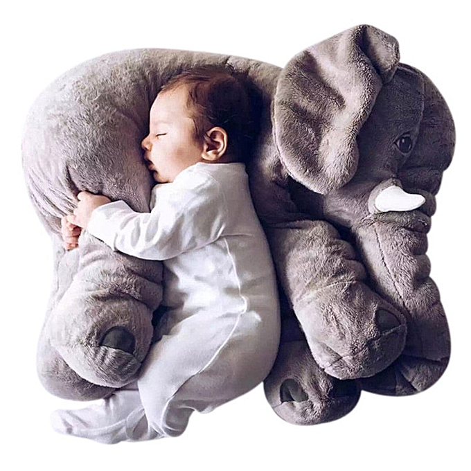 Autre Factory 40 Cm 60 Cm Elephant Pillow Doll Baby Infant Soft  Playmate Down Top Girl Friend Elephant Plush Toys Plush Toy Doll Gift(bleu) à prix pas cher
