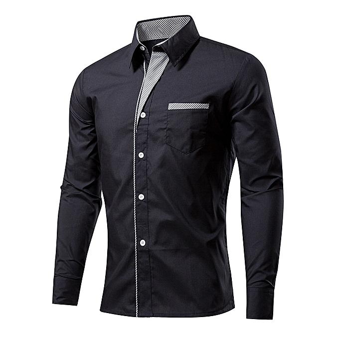 Other nouveau mode 20% Cotton Hommes& 039;s manche longued Shirt Plus Taille à prix pas cher