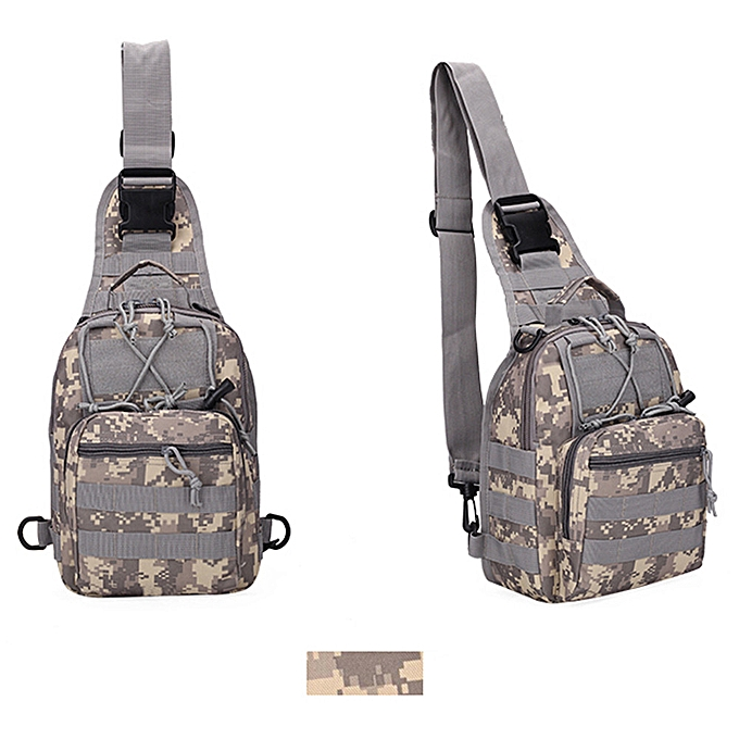 Generic Delicate Men's Military Tactical Backpack Shoulder Camping Hiking Camouflage Bag à prix pas cher