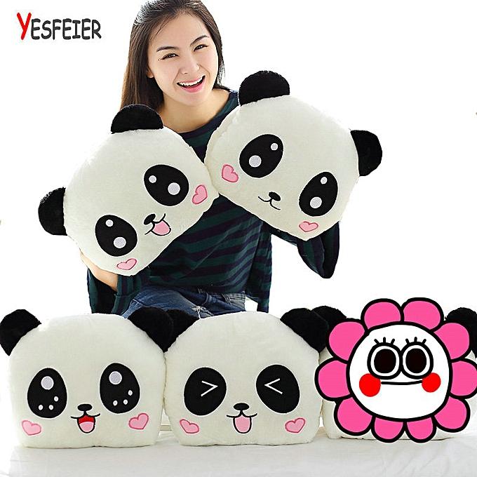 Autre 1PC 35cm Panda Bear Plush Hand Warmer Arms PilFaible Cushion Stuffed Animal Animal Doll Peluches Plush Toys(style 3) à prix pas cher