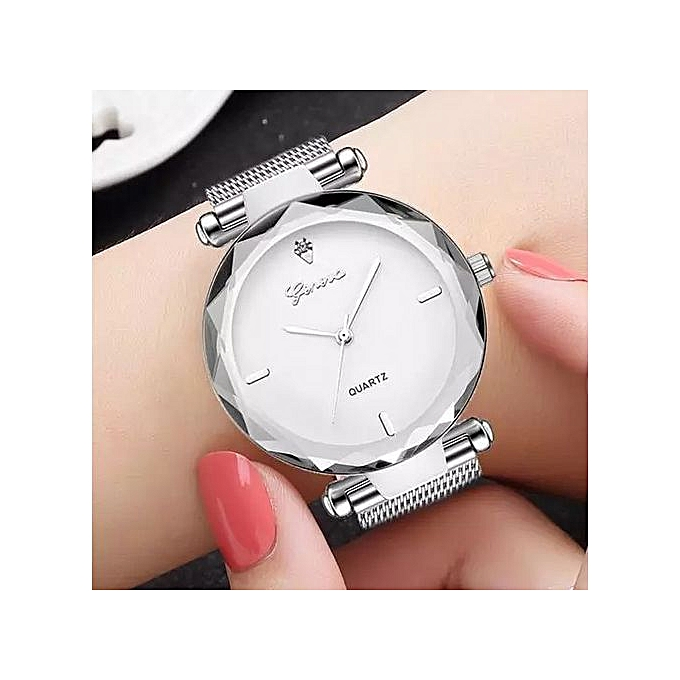 8deca0841afe9 Geneva ساعة اليد مع علبة هدية المقدمة لامرأة أنيقة
