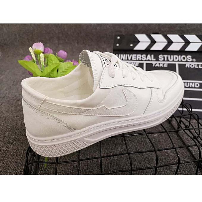 Fashion Small blanc chaussures male student wild casual chaussures noir à prix pas cher    Jumia Maroc