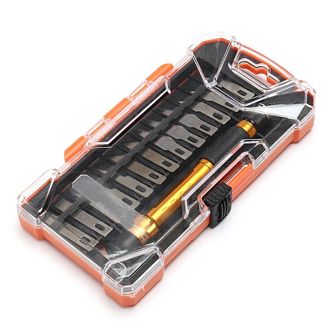 UNIVERSAL 14in1 Precision Knives Set Razor Blade Exacto Cutting Arts and Craft Hobby Tool Kit à prix pas cher