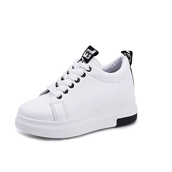 Autre Stylish Fashion Schoolgirls' Casual White Shoes Shoes White à prix pas cher  | Jumia Maroc c54386