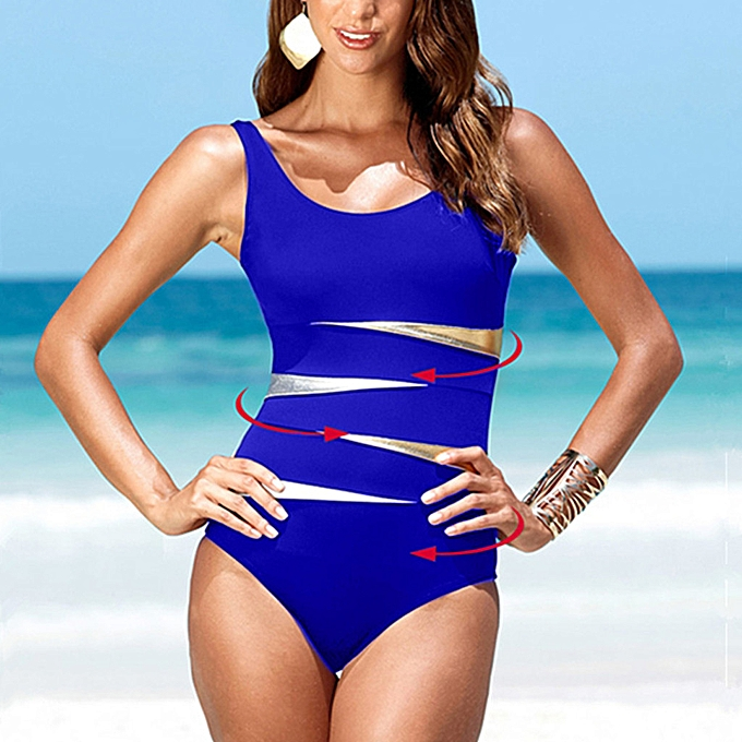 mode quanxinhshang femmes Plus Taille Print Tankini Swimjupmsuit maillot de bain plagewear Padded maillot de bain à prix pas cher