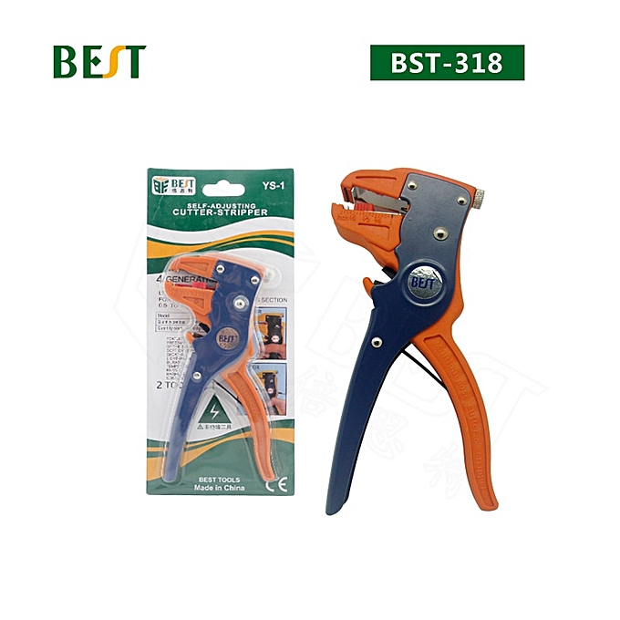 Other BES-318 Wire Stripper High Quality Cutter  Handhold Stripping Plier à prix pas cher