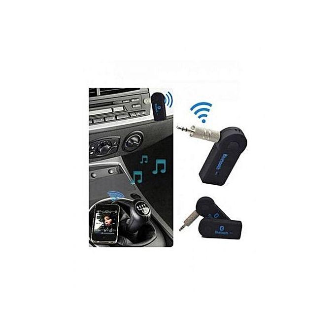 bluetooth pour voiture via prise jack aux pour musique et appels t l phones tablettes. Black Bedroom Furniture Sets. Home Design Ideas