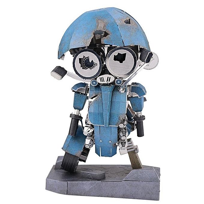 UNIVERSAL MU Soldier Model Building DIY 3D Puzzle Stainless Steel Model Set Action Figure- à prix pas cher