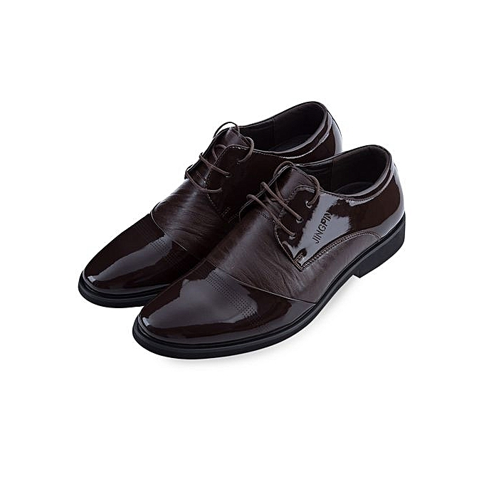 Générique Male Pure Color Pointed Business Leather Shoes à prix prix à pas cher  | Jumia Maroc c9cd30