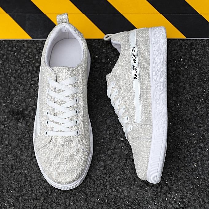 Autre Breathable Canvas chaussures Flax chaussures for Men à prix pas cher