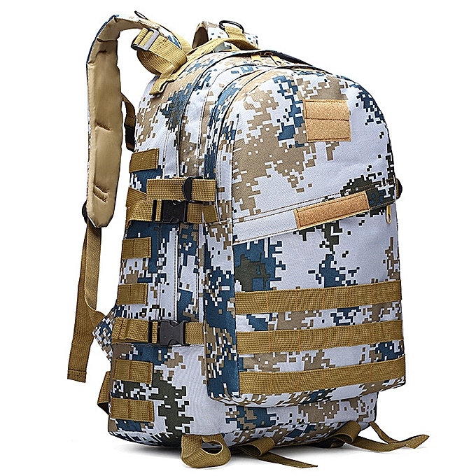 Neworldline 40L 3D Backpack Outdoor Trekking Sport Travel Camping Hiking Camouflage Bag M-M à prix pas cher