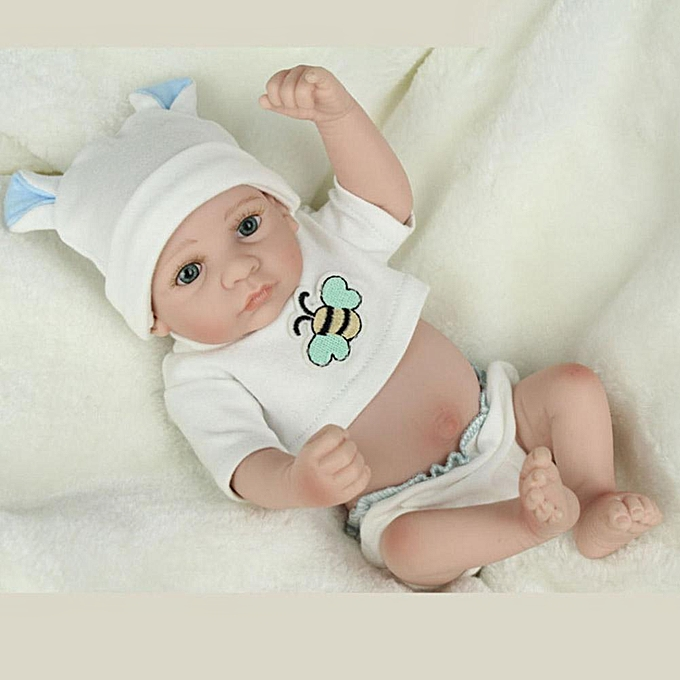 Autre Réunion amour belle poupée en silicone Reborn bébé réaliste poupée de simulation jouet cadeau pour bébé à prix pas cher