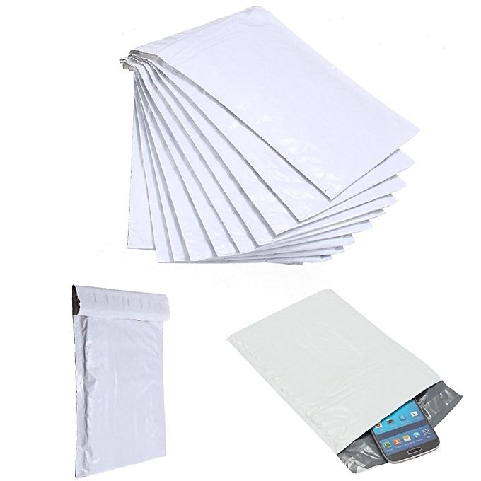 UNIVERSAL 10pcs Poly Bubble Mailers Plastic Padded Envelope Shipping Bags 5x7  6x7  7x9  LOT à prix pas cher