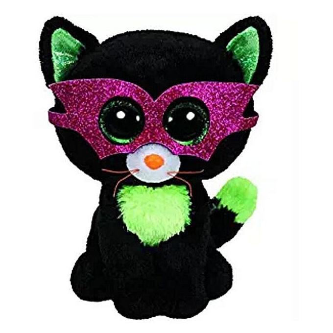 Autre TY Beanie Boos 15cm Sequin Dangler Unicorn Bird Dog Cat Fox Owl Fish Dragon Plush Toys Big EyesStuffed Animal Soft Toy Enfant Gift(Peacock bleu) à prix pas cher