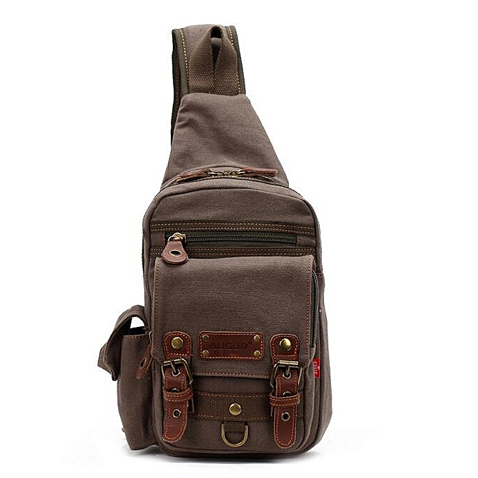 OEM nouveau arrivel Hommes Chest Pack sac For Hommes Décontracté toile Shoulder sac à prix pas cher