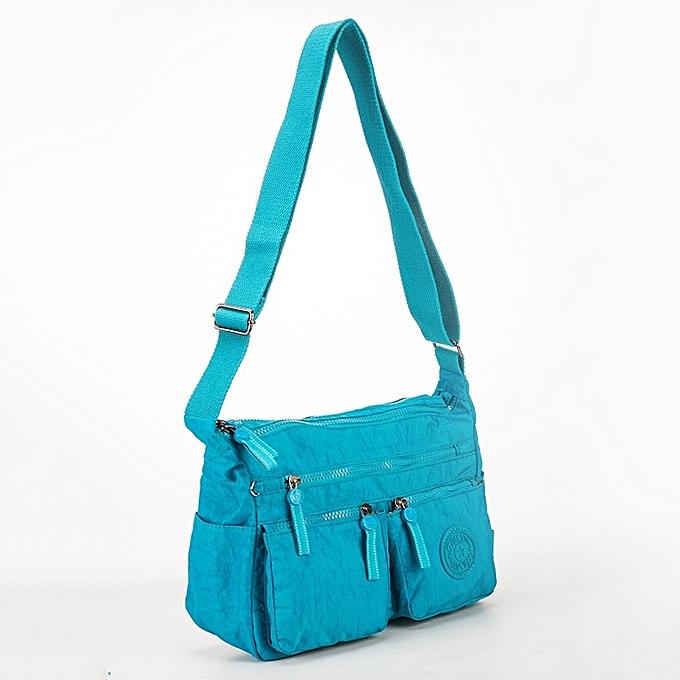 Other TEGAOTE Luxury femmes Messenger Bag Nylon Shoulder Bag Ladies Bolsa Feminina Waterproof Travel Bag Wohommes Crossbody Bag(sky bleu) à prix pas cher